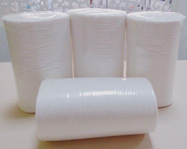 Livraison gratuite 91Rolls de couche de tissu en viscose jetable biodégradable couches inserts couches 100 feuilles par rouleau