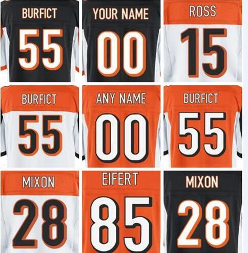 2019 Mens Jersey AJ Green Joe Mixon Anthony Munoz Custom Cincinnati  for sale