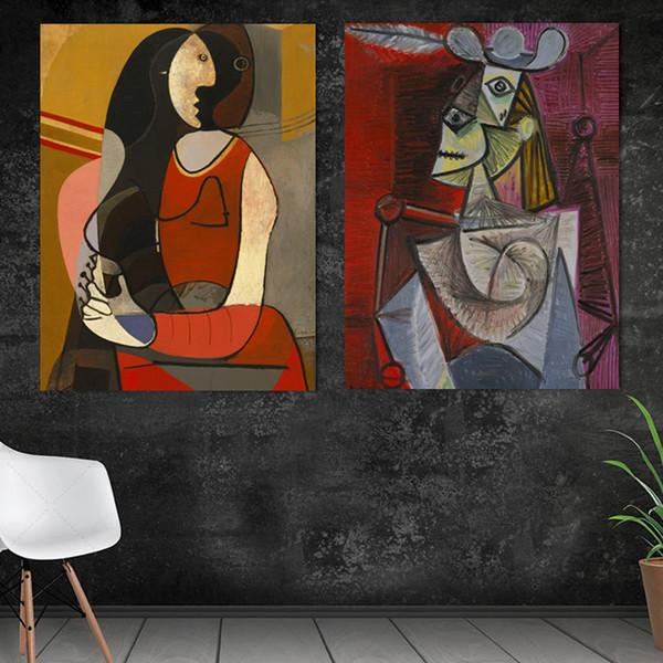 Acheter Toile Peinture Mur Photo Picasso Nordique Abstrait Espoir Salon Modernisme Art Décoration Photo Scandinave No Frame De 36 24 Du Aliceer