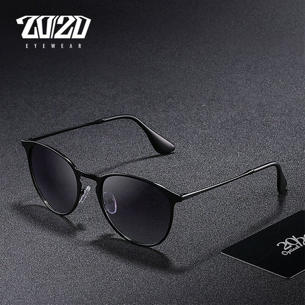 20/20 Brand Classic Polarized Unisex Sunglasses Men Women brand designer Vintage Eyewear Driving Sun Glasses D18101302