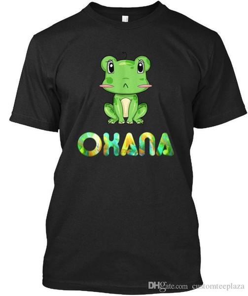 T-shirt Oxana Grenouille / Grenouille Élégant T-shirts Chemise Homme Geek Manches Courtes Mode Personnalisé Grandes T-shirts Homme