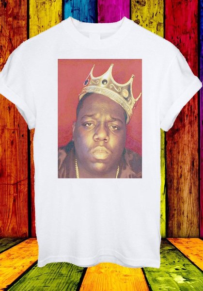 The Notorious B.I.G. Biggie Biggie Smalls Rapper Men Women Unisex T-shirt 66