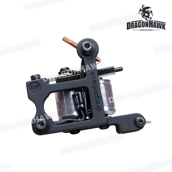 New Tattoo Machine Gun Plata Liner 10 Wraps Steel Frame Copper Coils WNQ4136-2
