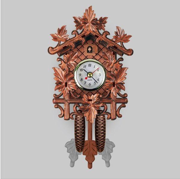 Fabulous Vintage Home Decorative Bird Wall Clock Hanging Wood Cuckoo Download Free Architecture Designs Rallybritishbridgeorg