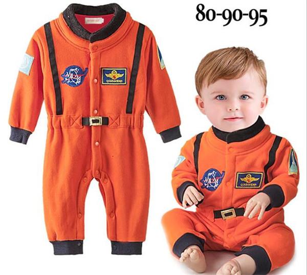 Großhandel Baby Nasa Astronaut Kostüme Kleinkind Halloween Strampler Für Kleinkind Jungen Kinder Raumanzug Overall Kinder Tuch Y277 Von Babyxu123,