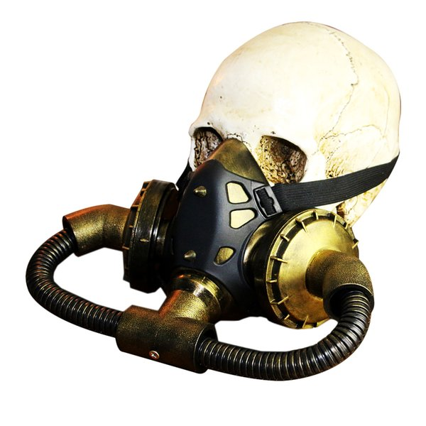 Halloween Gas Mask Costume Festival Cosplay Masquerade Steampunk Mask Punk Photo Prop Party Supplies
