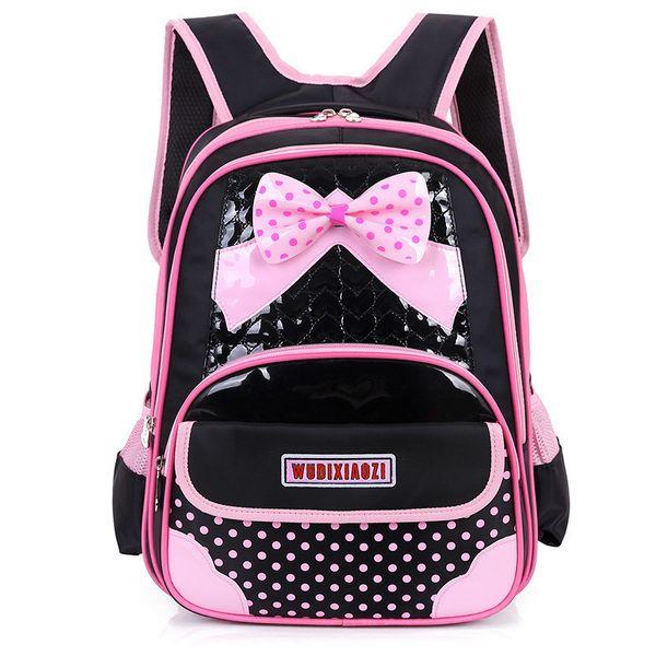 New Children School Bags For Girls Orthopedic kids Backpack Primary School Backpacks schoolbag satchel Mochila Infantil Zip Y18100705