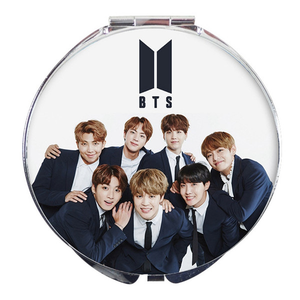 BTS Bangtan Boys Mirror JIN JIMIN J HOPE SUGA RM V JUNGKOOK KPOP Fans Gift  BTS Accessories New Bedroom Mirrors Lighted Mirror From Sophine06, $35 86|