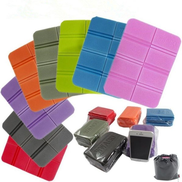 XPE Folding Pocket Seat Cushion Park Portable Small Cushion Moisture-proof Waterproof Anti-dirty Anti-cold Outdoor Pads CCA9853 50pcs