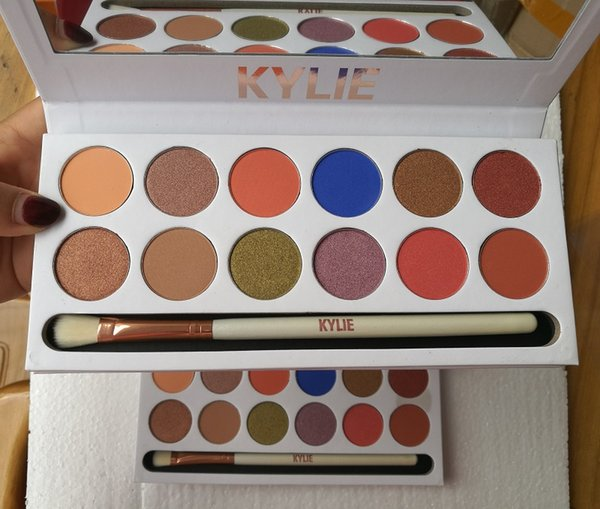 In tock new co metic the royal peach ky hadow palette preorder 12 color eye hadow dhl hipping