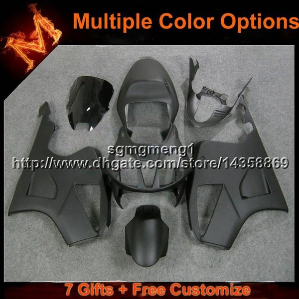 23colors+8Gifts Matte glossy black motorcycle cover for HONDA RC51 VTR1000SP1 2000 2001 2002 2003 2004 2006 Bodywork Set ABS Plastic Fairing