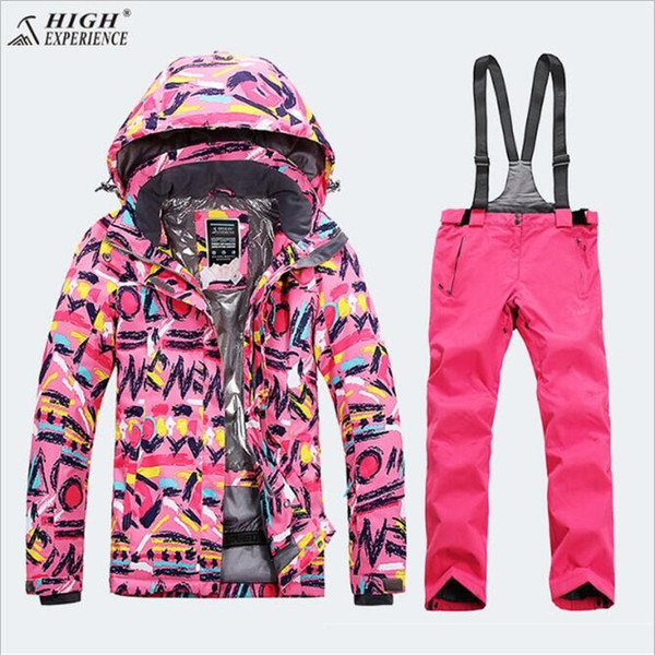 2018 Waterproof Index 15000mm Warm Coat Ski Suit Windproof Boys Jackets Kids Clothes Sets Children Outerwear For 3-16 Years Old