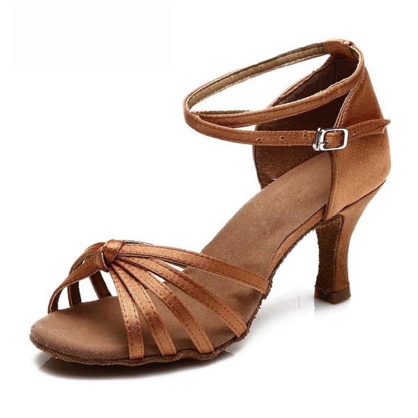 Brown Heel 7 centímetros