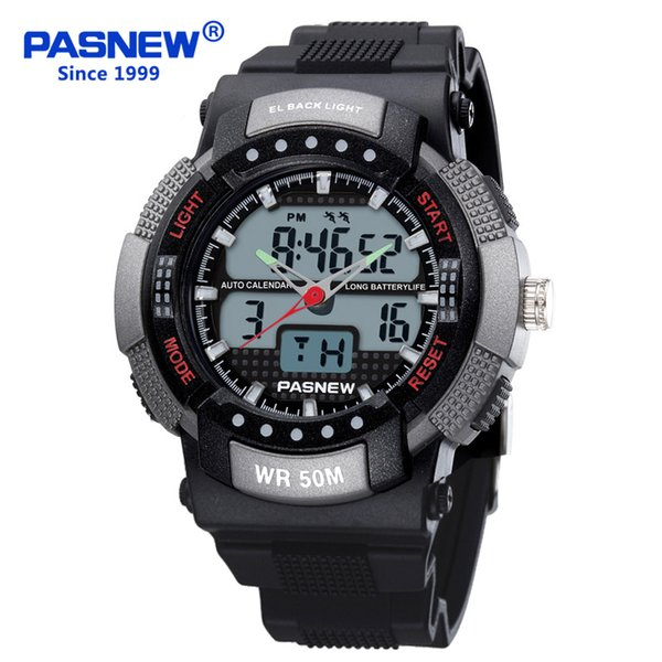 2018 Free Shipping Fashion Men Watch Waterproof Sport Men Wristwatch S Quartz Digital Boy Clock Relogio Masculino