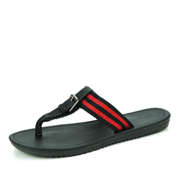 Men's flip-flops summer anti-skid outdoor Korean fashion casual T - shaped flip-flops