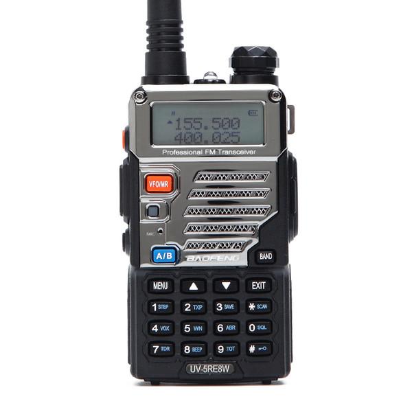 BaoFeng UV-5RE 8W Walkie Talkie Dual Band UV 5RE Two-way Radio VOX Handheld 10km Long Range Ham Hunting Radio