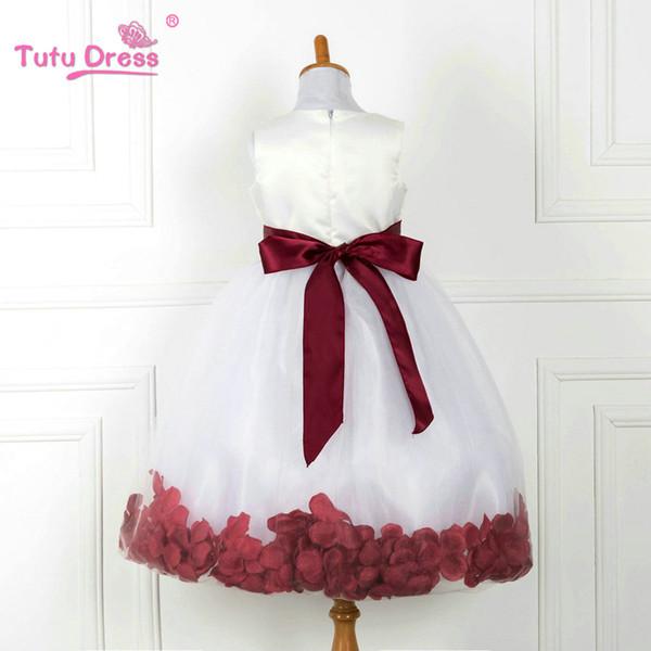 Kinderkleidung Blumenmädchenkleider Für Hochzeiten Elegantes Kleid 2 -12 Jahre Designer Blumenmädchenkleider Für Kinder