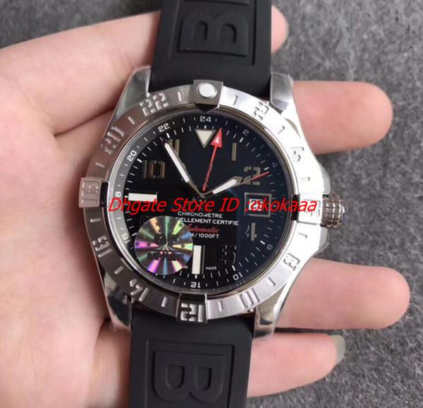 Brand New GF Factory artefatto da nuoto Classic 43mm A17331 Super Avenger ETA 2836 Movimento Mens Orologi automatici