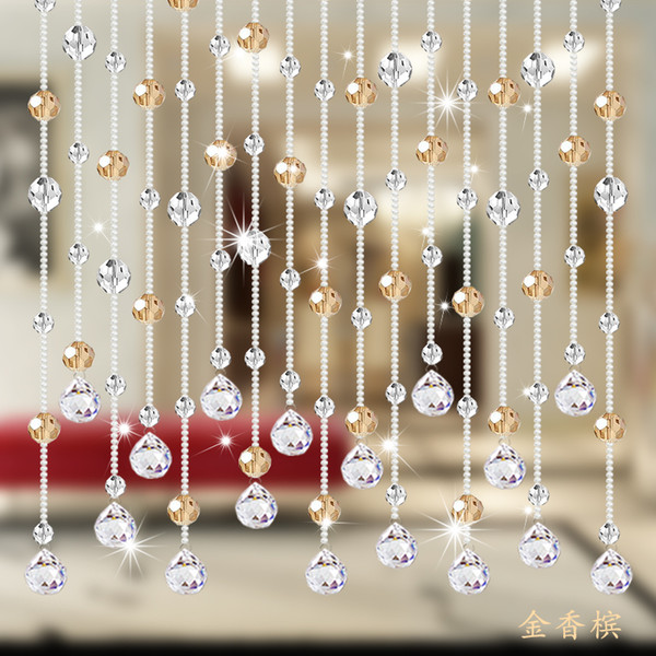 Großhandel Vorhang Badezimmer Schlafzimmer Vorhänge Feng Shui Bildschirm  Crystal Hängenden Vorhang Jalousien Linie Wohnzimmer Perlen Kette Von  Copy02, ...
