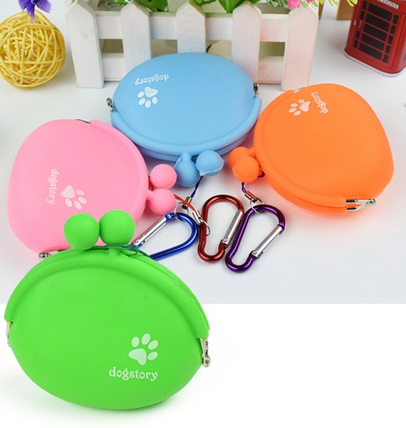 DogStory Pet Dog Walking Food Treat Snack Bag Outdoor Silicone Dog Training Conservazione alimenti Tasche Pouch Waist Storage Hold