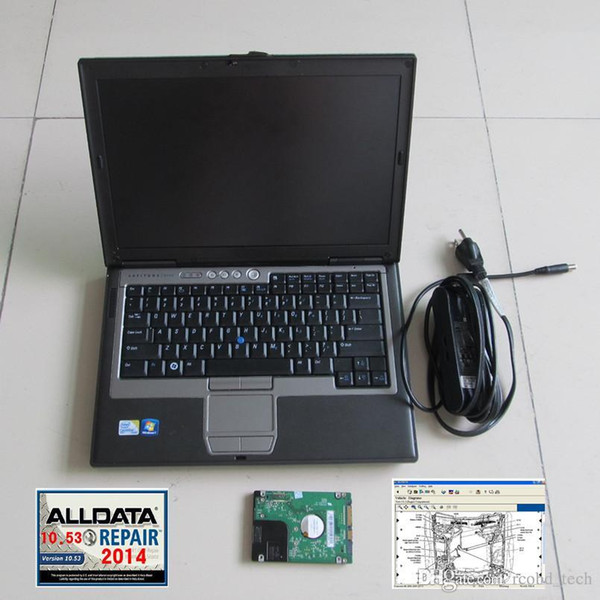 Alldata 10.53 with D630 2G Laptop Alldata and mitchell Ready use Auto Repair all data in 1TB Hard disk