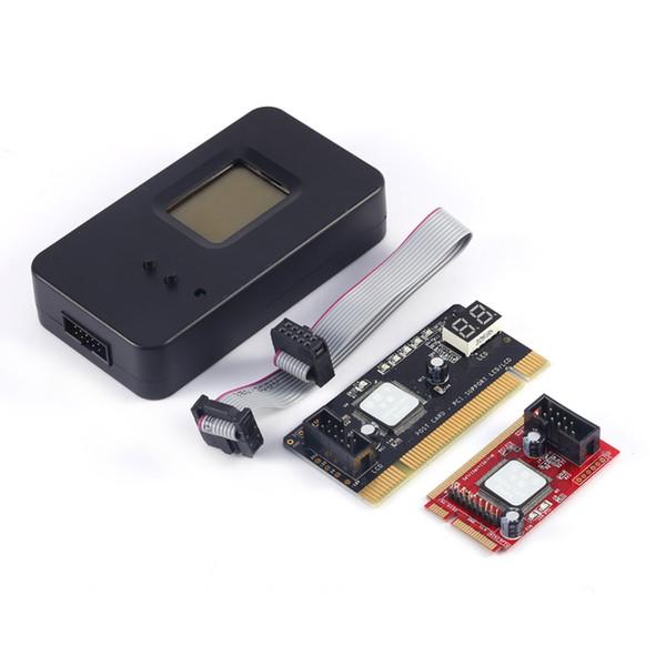 Freeshipping Mini PCI-E PC PCI Diagnostic Test Tester PC Debug Post Card For Laptop/Desktop