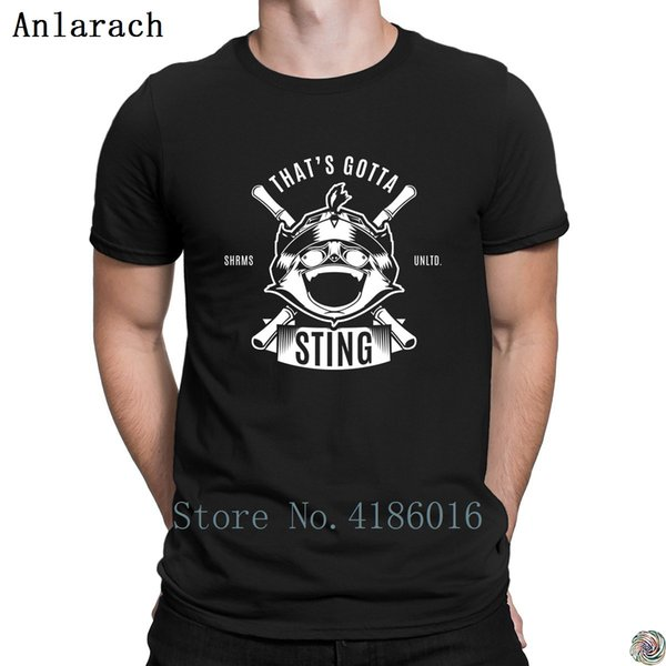That's Gotta Sting t-shirt fun Customize Basic male t shirt for men Top Quality Standard Summer Style cotton simple
