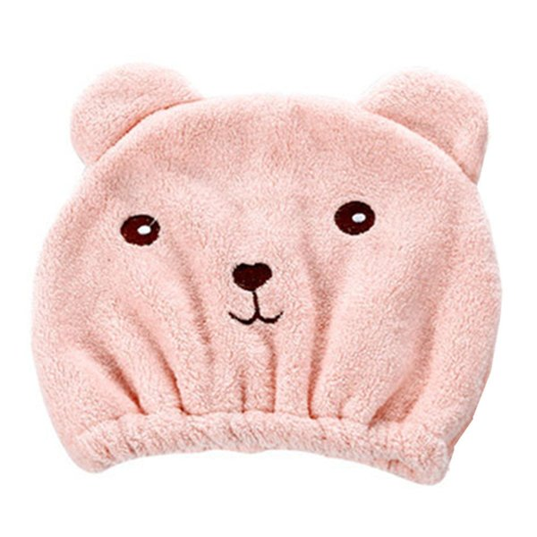 New Creative Natural Microfiber Hair Turban Quickly Dry Hair Animal Shape Hat Wrapped Towel Bathing Cap Effects Skin 23May 11