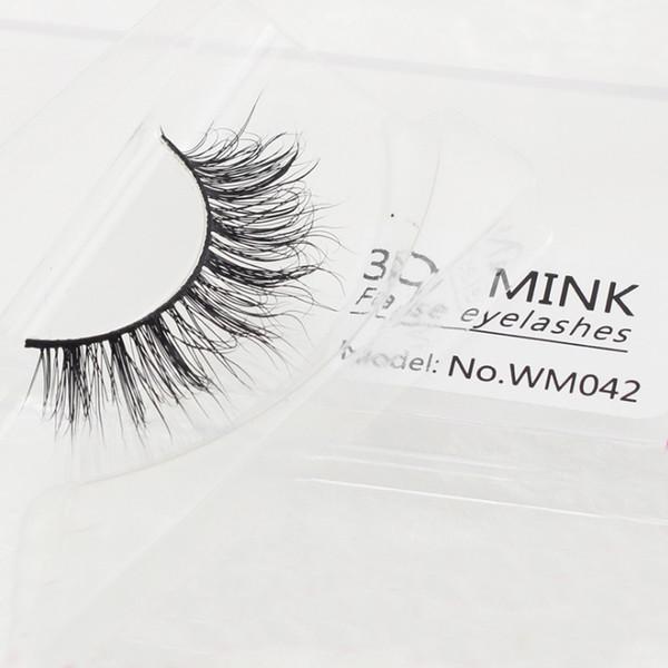 REAL Mink Eyelashes CHIC Full Strip Mink Lashes Natural False Eyelashes 1 pair Handmade Fake Eye Lashes Extension for Beauty Makeup Lash ext