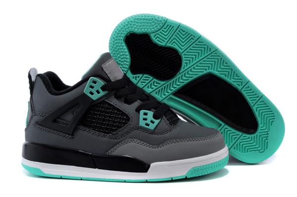 Nike air Jordan 4 13 retro Niños Niñas 12s Gimnasio Rojo Hiper Violeta Púrpura Niños Zapatillas de baloncesto Niños Rosa Blanco Azul Gris oscuro Niños pequeños Zapatillas de correr junior