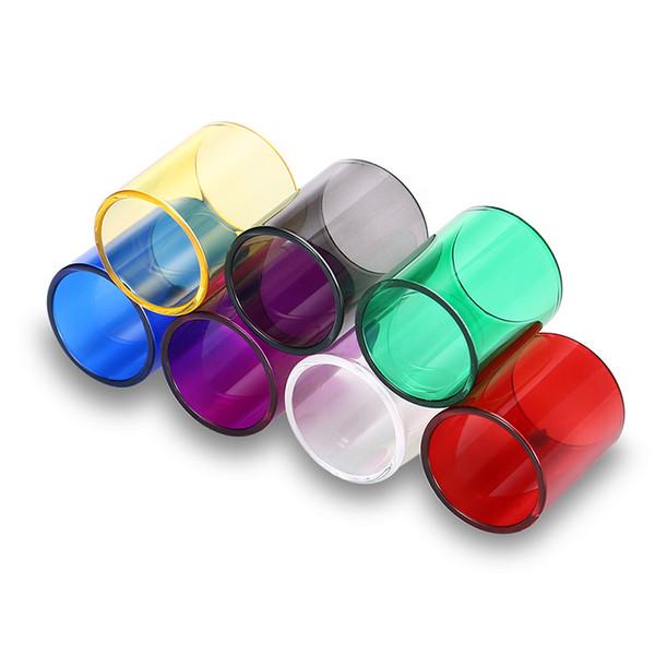 Tubo de vidro da recolocação 7PCS / pack para o teorema / serpente Alto / Ammit RTA / VGOD PRO RDTA, ELITE RDTA / TOPTANK mini / tfv12 (envia um de cada cor)