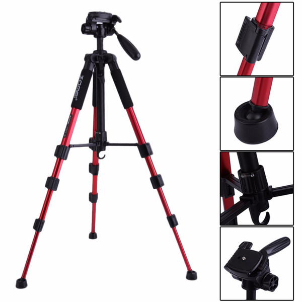 Freeshipping Portable Q111 Heavy Duty Aluminium Camera Tripod Stand For SLR Camera with Carrying bag