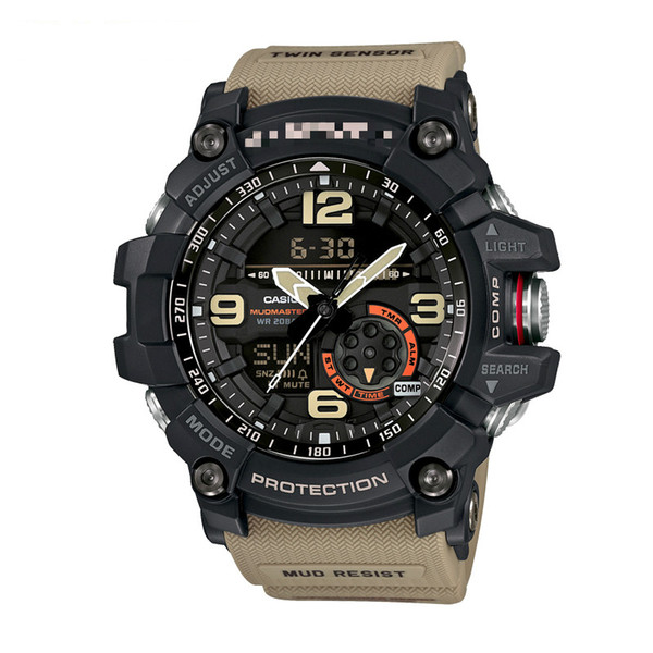 GG-1000 Sports watches Temperature measurement without compass function (Three colors)