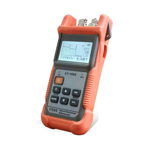 FTTX portable CY-190 SM OTDR Otdr Machine Fiber Optic Visual Fault LocationOptical Time Domain Reflectometer Tester