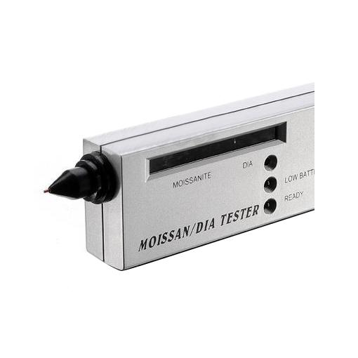 top popular LED Moissanite Jewelry Diamond Gemstone Tester Authentication Selector Tool Silver 2021