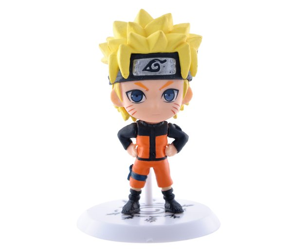 New 3D Classic Figurine 6pcs/set Naruto PVC Action Figure Toys Full Set Model Collection Free Shipping