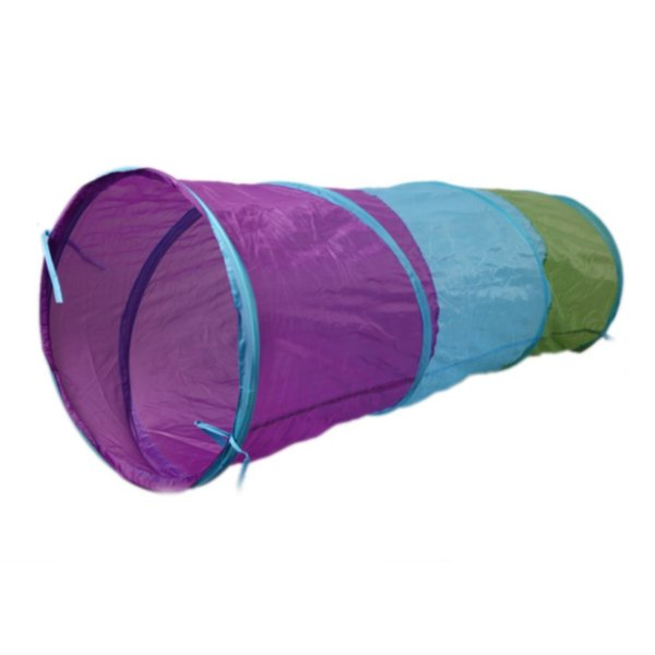 """59"""" Kids Tent for children Pipeline Crawling Huge Game Yard Ball Pool lodge Toy tents Cartoon fence Geometric"""