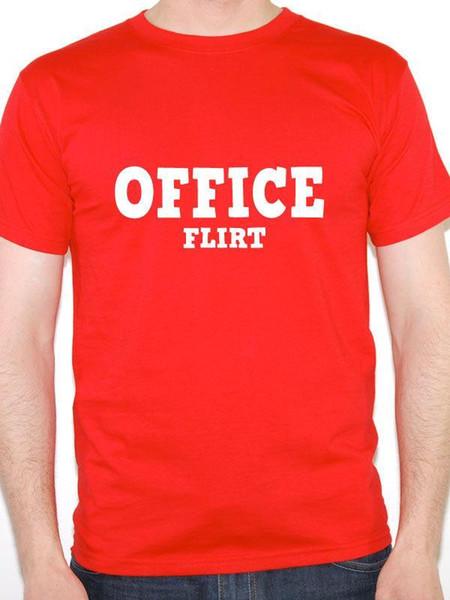 OFİS FLIRT - Esprili / Sevgililer / İlişki / Çalışma Temalı Erkek T-Shirt