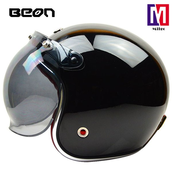 2018 BEON B-108 2018 BEON unisex men and women half open face adjsutable size motorcycle helmet head protection safety gear