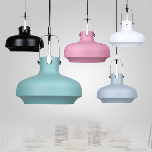 D25/35/60cm Denmark Designer Space Copenhagen Colorful Aluminium Pendant Lights Lamps Suspension Hanging Lamp Dining Room Restaurant Shop