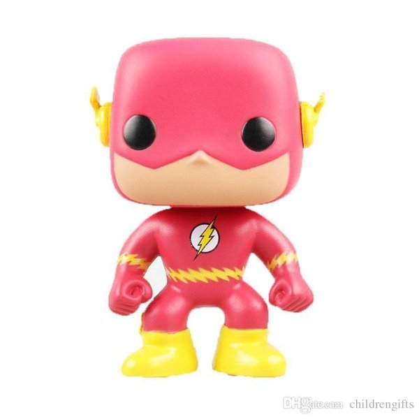 DHL Fast ship Funko POP Comics The Flash Vinyl Action Figure with Box #207 Toy Gift Doll Good Quality