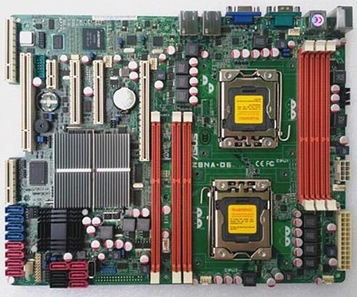 For X58 server motherboard PN# Z8NA-D6 1366pins support X5600 series