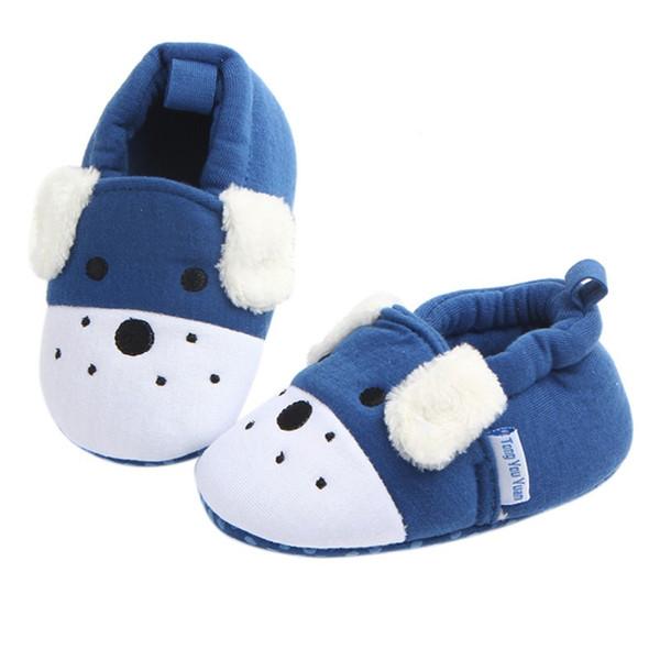 Baby Catton Pattern Prewalker Soft Cotton Crib Shoes Infant Anti Slip Toddler ShoesA1