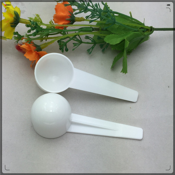 top popular Measure Plastic Spoon Plastic Measuring Scoop 5g Measure Spoons Kitchen Tool 2021
