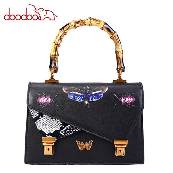 High-quality Designer Handbags Leather Fashion Casual Shoulder Diagonal Bag Bamboo Handle Handbag Womens Bag Porte Monnaie Femme