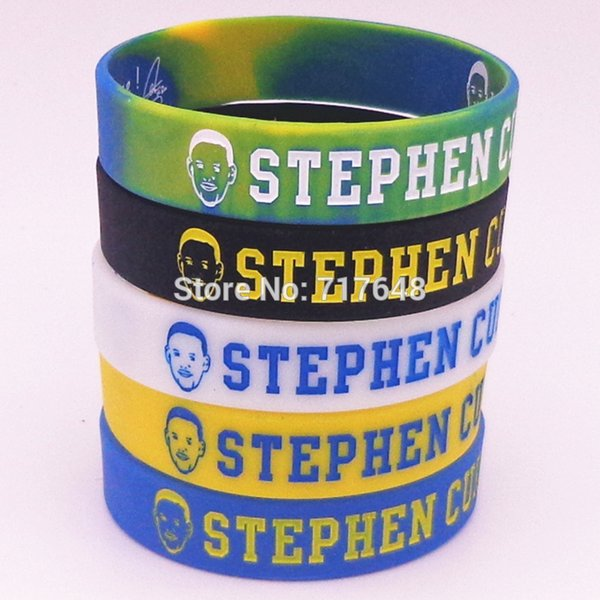 1pc Stephen Curry wristband silicone bracelets