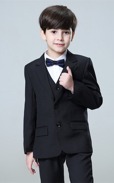 Custom-made exquisite fashion boy and child suit, suit set three-piece suit (coat + pants + vest), a variety of colors and sizes to choose f