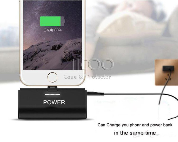 For IOS Android Portable Power Bank Charger Wireless Mini For Iphone Samsung HUAWEI With Retail Package
