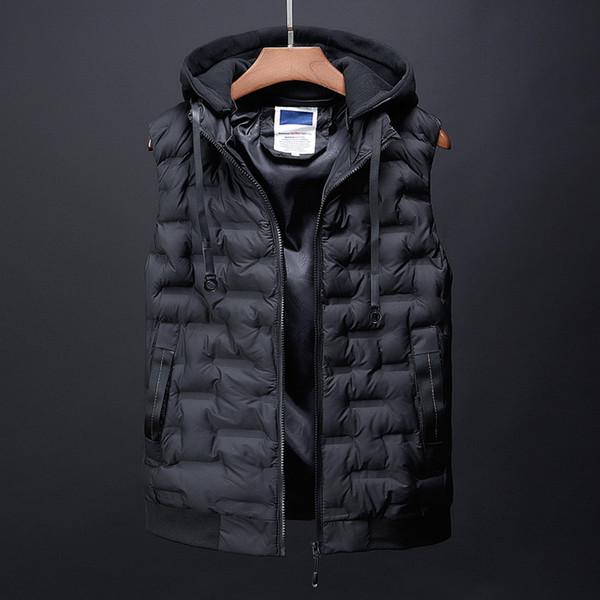 fashion men's clothing korean men down jacket coats winter warm vests designer male casual suits dress boys canada vest for men