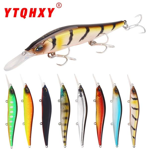 YTQHXY Minnow Fishing Lure 135mm 14g Sinking Long Casting Hard Bait Wobblers Crankbaits Bass Pike Easy Shiner Esfishing YE-478 Y18100806